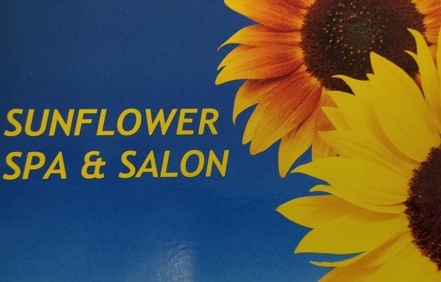 SUNFLOWER SPA & SALON Logo