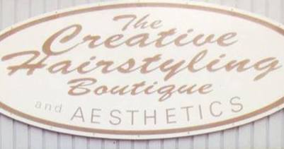 CREATIVE HAIRSTYLING BOUTIQUE Logo