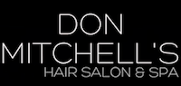 DON MITCHELL'S HAIR SALON & AETHETICS Logo