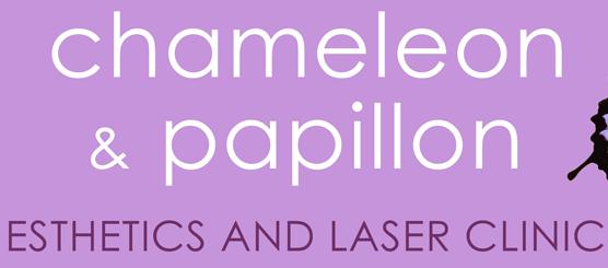 CHAMELEON & PAPILLON ESTHETICS & LASER CLINIC Logo