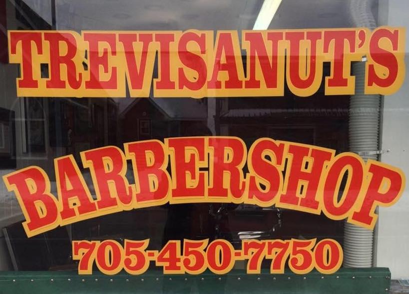 TREVISANUTS BARBERSHOP Logo