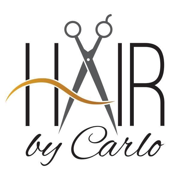 HAIR BY CARLO Logo
