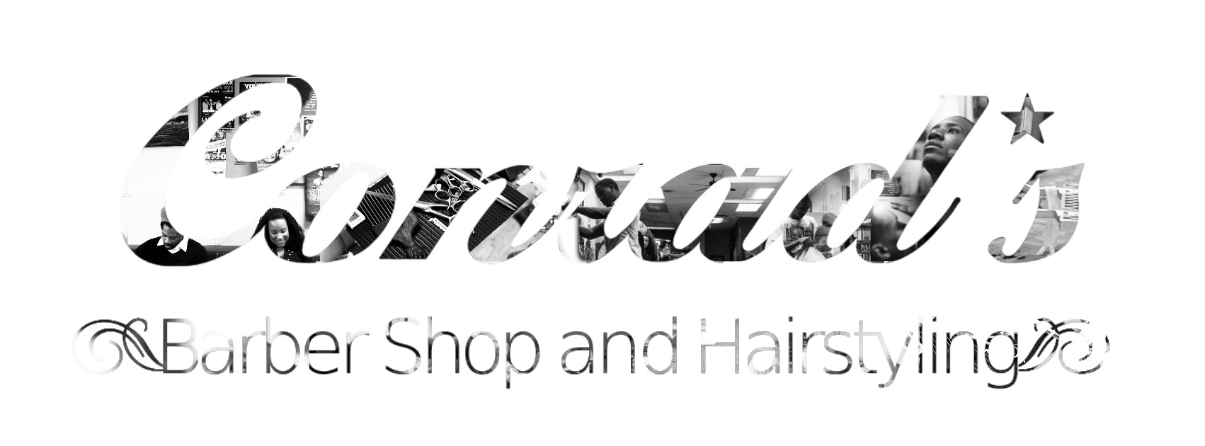 CONRADS BARBER SHOP Logo